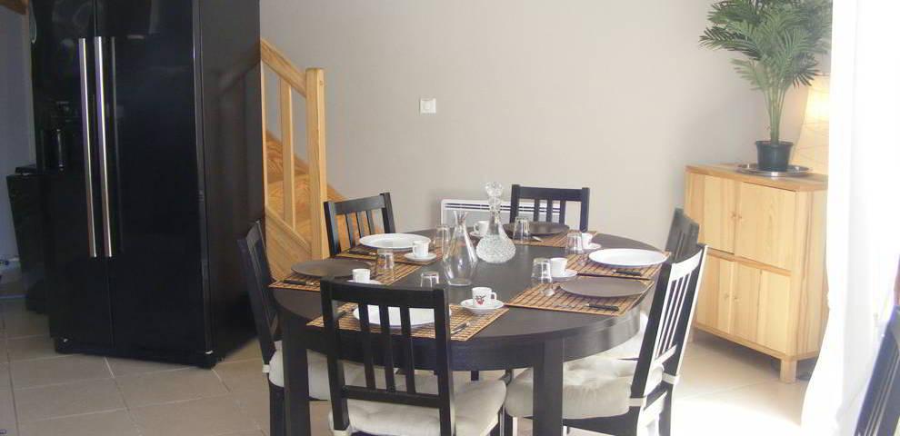 Une salle à manger ...